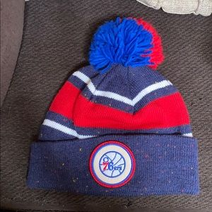 Mitchell and Ness 76ers Hat